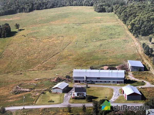 Aerial View - 417 rang du Lac-Aux-Grelots, St-Evariste-De-Forsyth for sale