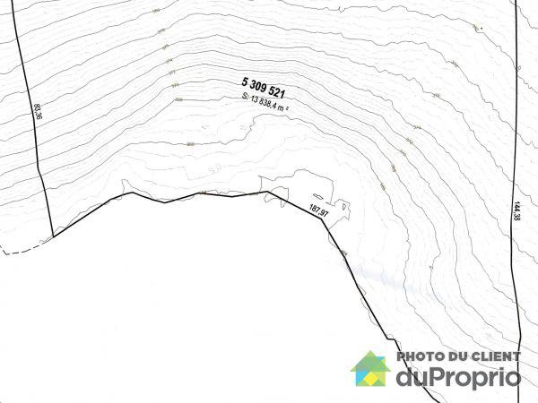 Plan du terrain - 310, chemin Lac Clair, Ste-Marguerite-Du-Lac-Masson à vendre