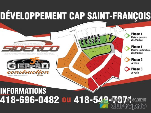 Domaine du Cap Saint-François, Chicoutimi (Chicoutimi-Nord) for sale