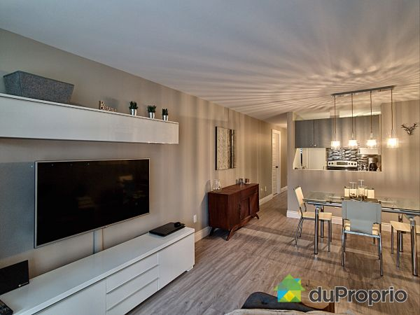 Salon / Salle à manger - Terrasse-10154, Promenade des Riverains, Anjou à vendre