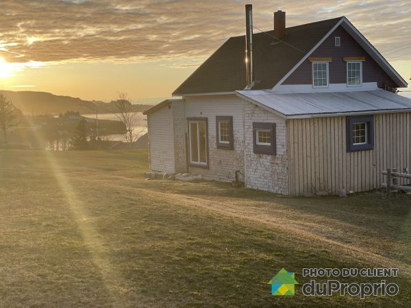 Rear View - 640 route 132, Cloridorme for sale
