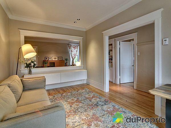 Salon - 7660, rue Drolet, Villeray / St-Michel / Parc-Extension à vendre
