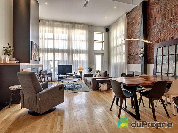 Living / Dining Room - 106-380 rue Saint-Benoît, Saint-Sauveur for sale