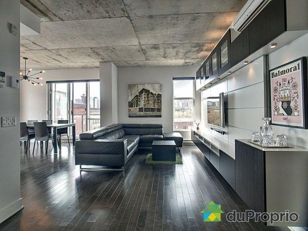 Living Room - 711-377 rue des Seigneurs, Griffintown for sale