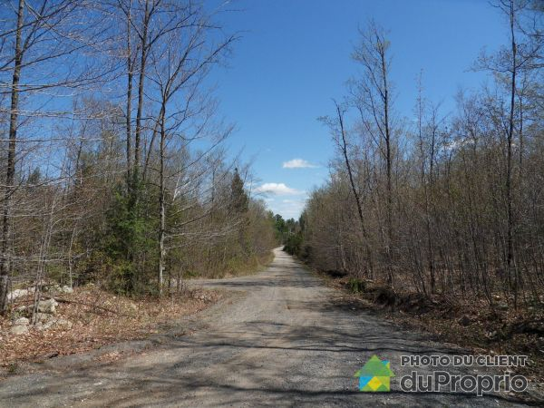 Street -  chemin Lamoureux, Ste-Julienne for sale