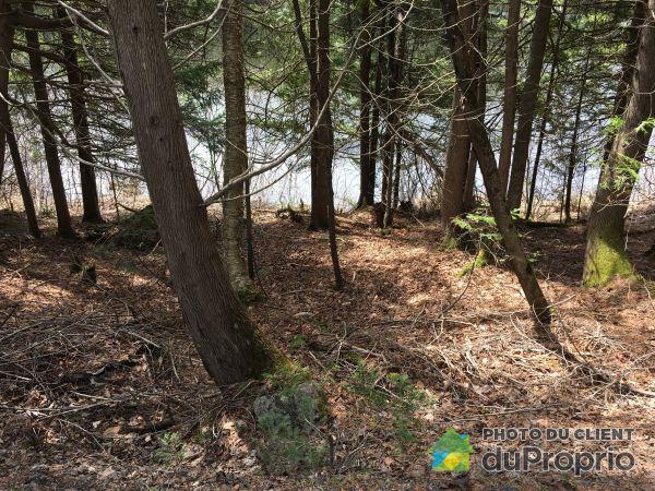 Vue sur le lac - terrain #4-, Chemin Rustique, Morin-Heights à vendre