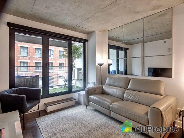 Living Room - 229-700 rue Saint-Paul Ouest, Ville-Marie (Centre-Ville et Vieux Mtl) for sale