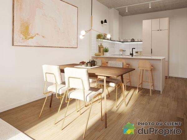 Quartier Général - Phase 2 - unité 232 - Par Prével, Griffintown à vendre