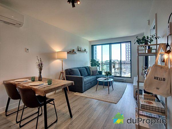 Living / Dining Room - 1008-1228 rue des Bassins, Griffintown for sale