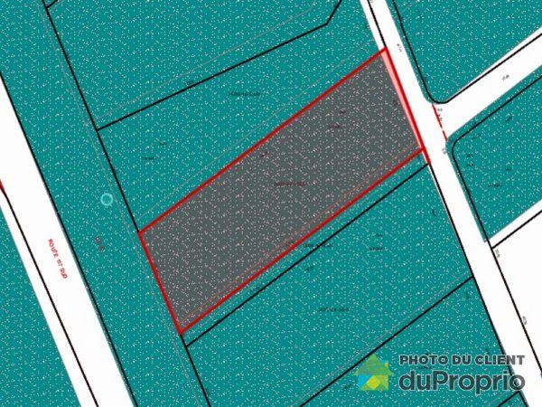 Plan du terrain - chemin du Rapide, Rivière-Rouge (Marchand) à vendre
