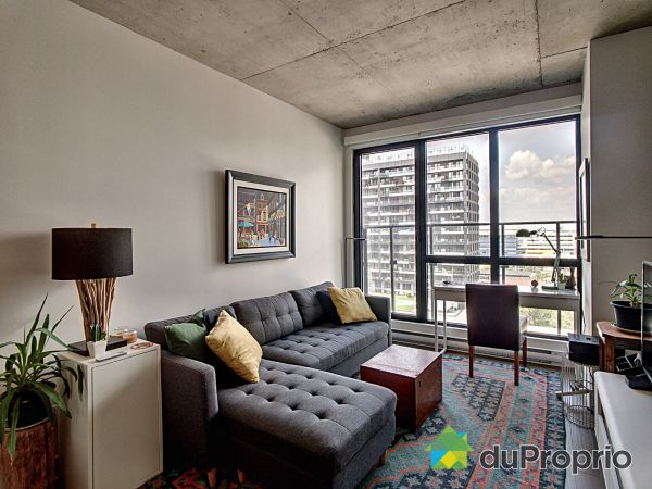 Living Room - 1105-195 rue Peel, Griffintown for sale