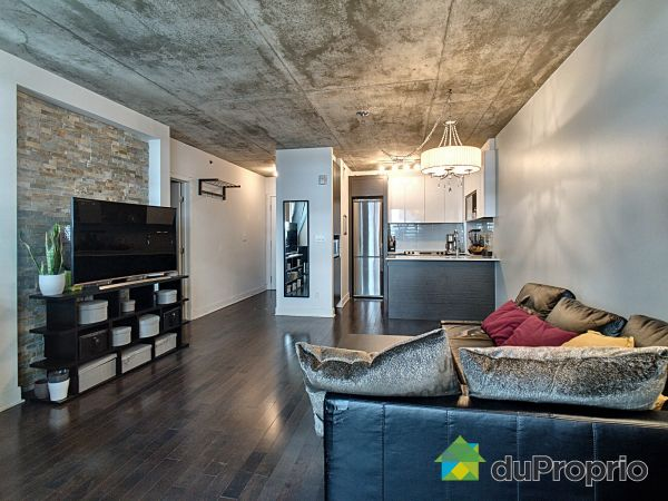 Living / Dining Room - 405-185 rue du Seminaire, Griffintown for sale