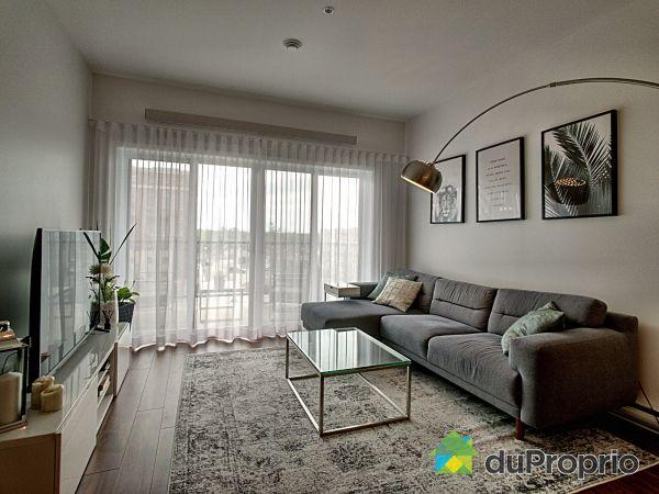 Living Room - 405-8265 rue de Londres, Brossard for sale