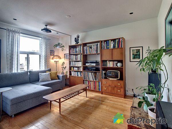 Living Room - 3598 rue Cartier, Le Plateau-Mont-Royal for sale