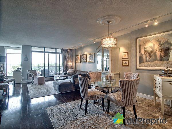 Living / Dining Room - 702-100 rue Hall, L'Ile Des Soeurs for sale