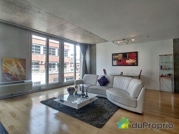 Living / Dining Room - 602-80 rue Prince, Ville-Marie (Centre-Ville et Vieux Mtl) for sale