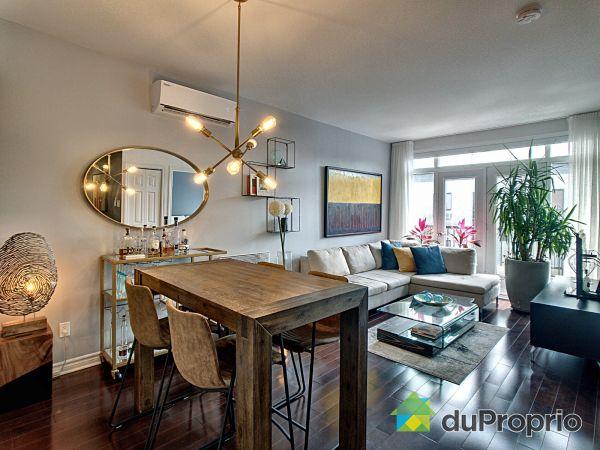 Dining Room / Living Room - 407-1210 rue Saint-Antoine est, Ville-Marie (Centre-Ville et Vieux Mtl) for sale