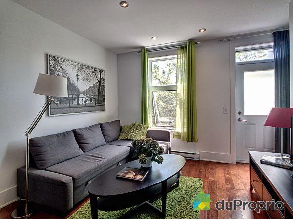 Living Room - 4527 rue La Fontaine, Mercier / Hochelaga / Maisonneuve for sale