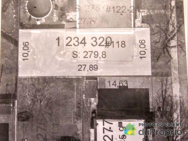 Vue aérienne - 118, 68e Avenue, LaSalle à vendre