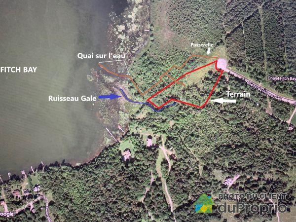 Bord de l'eau - chemin du Ruisseau-Gale, Canton de Stanstead à vendre