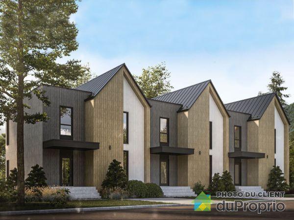 Modèle MILA - Maison en rangée, Beaupré à vendre