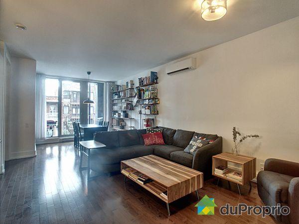 Living / Dining Room - 203-8042 rue St-Denis, Villeray / St-Michel / Parc-Extension for sale