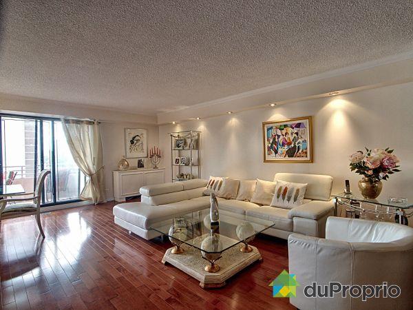 Living / Dining Room - 601-5790 avenue Rembrandt, Côte-St-Luc / Hampstead / Montréal-Ouest for sale