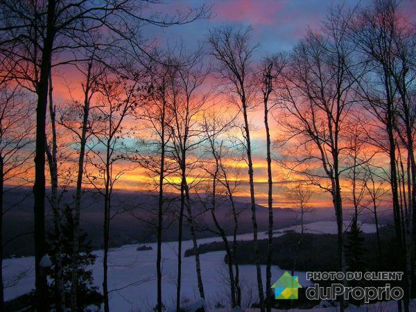 Vue panoramique - X, chemin de la Sérénité, Lac-Tremblant-Nord à vendre