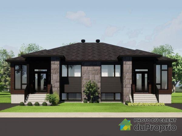 rue Berger - Orée du Parc Central - Par les Constructions Christian Belleau, Sherbrooke (Rock Forest) for sale