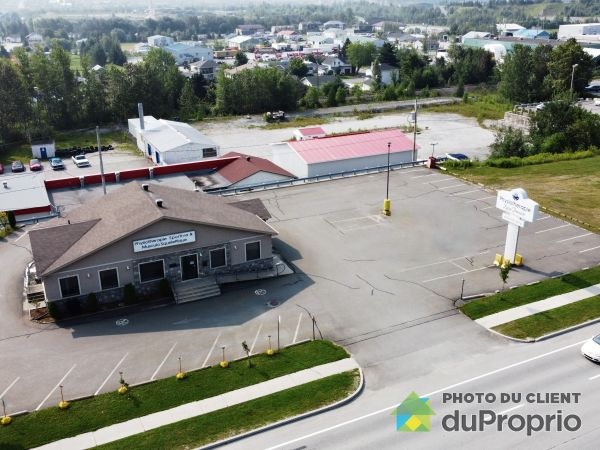 Aerial View - 112 boulevard Frontenac Ouest, Thetford Mines for sale