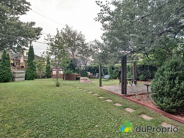 Backyard - 1586 rue Sainte-Thérèse, St-Jean-sur-Richelieu (St-Luc) for sale