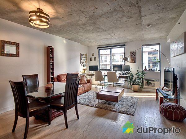 Living / Dining Room - 1305-185 rue du Séminaire, Griffintown for sale