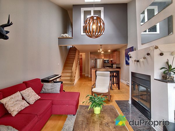 Living / Dining Room - 469 Garneau, Le Plateau-Mont-Royal for sale