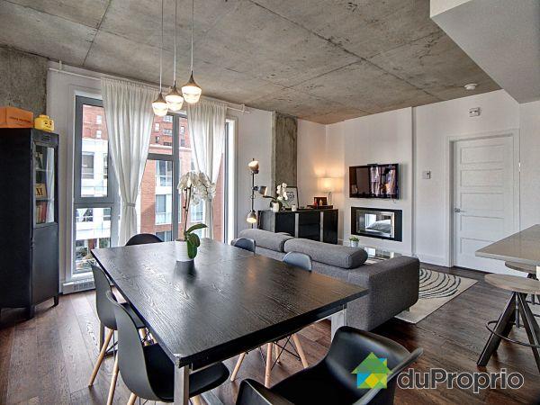 Dining Room / Living Room - 602-1205 rue Saint-Dominique, Ville-Marie (Centre-Ville et Vieux Mtl) for sale