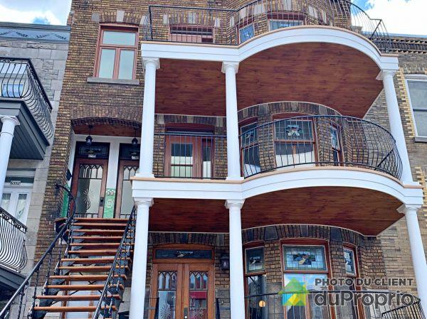 Bâtisse - 6558A, rue Saint-Denis, Rosemont / La Petite Patrie à vendre