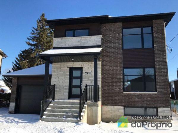 3815, rue Paquette - Par Chantignole Constructeur d'Habitations Inc., Longueuil (St-Hubert) à vendre