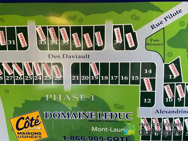 rue des Daviault, Mont-Laurier à vendre