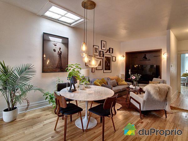 Salon / Salle à manger - 2247 A, rue Darling, Mercier / Hochelaga / Maisonneuve à vendre
