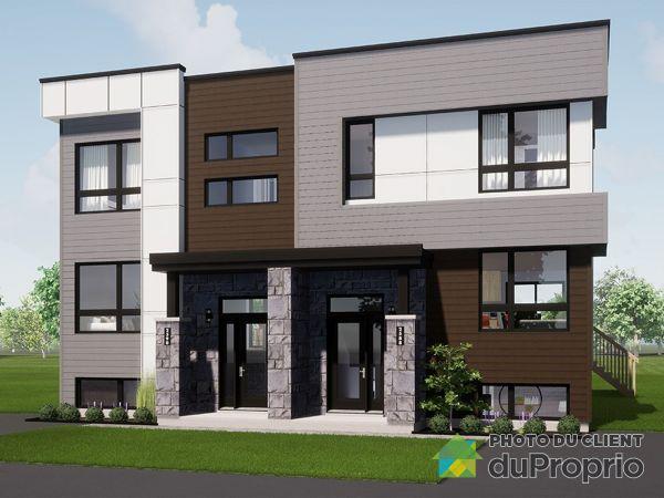 1637 rue Yvon-Bibeau - Place de la Croisée - Par les Constructions Christian Belleau, Sherbrooke (Rock Forest) for sale