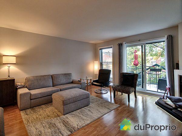 Living Room - 201-653 terrasse du Ruisseau, Lachine for sale