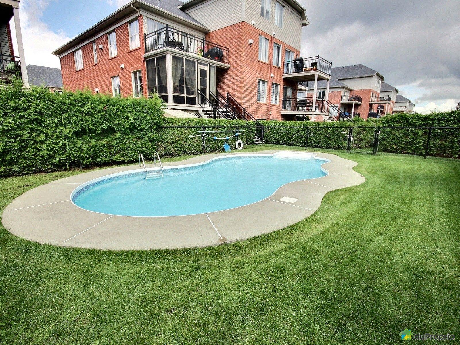 Condo vendu brossard immobilier qu bec duproprio 636289 for Brossard piscine