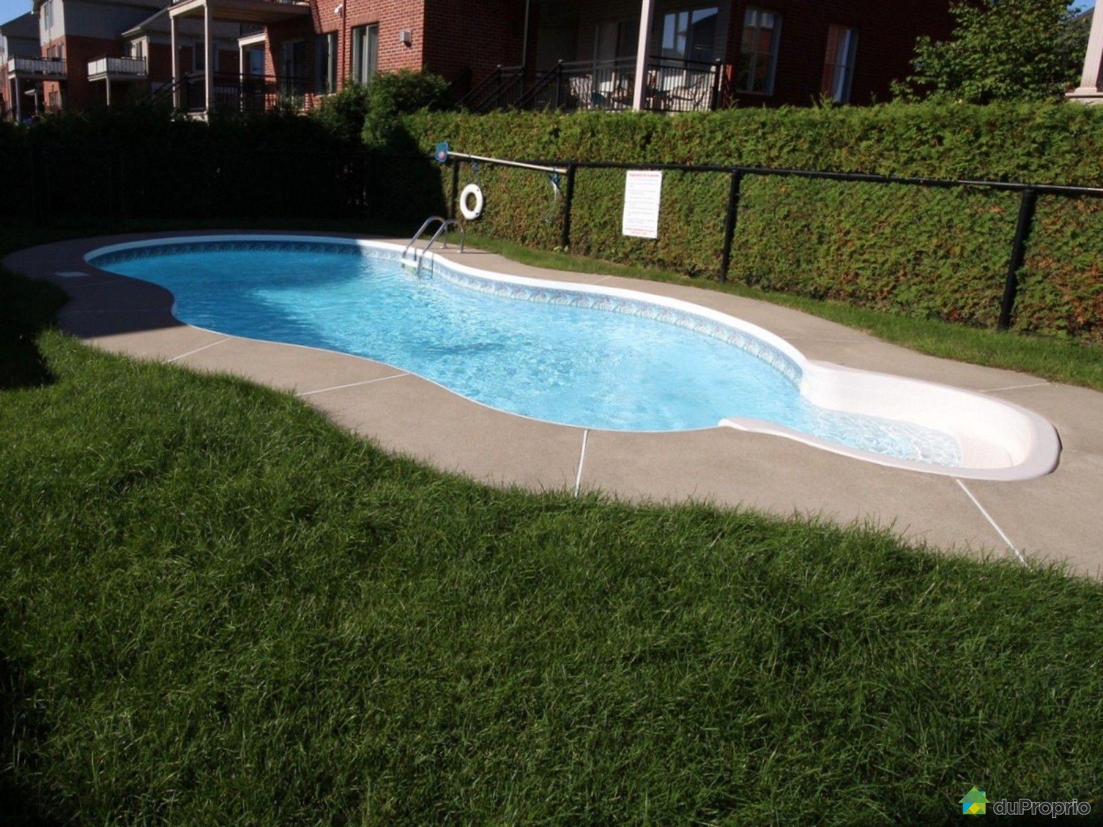 Condo vendre brossard 4 9010 rue le corbusier for Brossard piscine