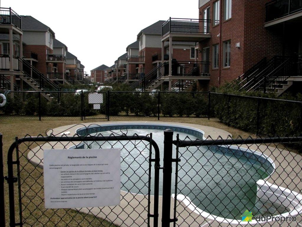 Condo vendu brossard immobilier qu bec duproprio 247737 for Brossard piscine
