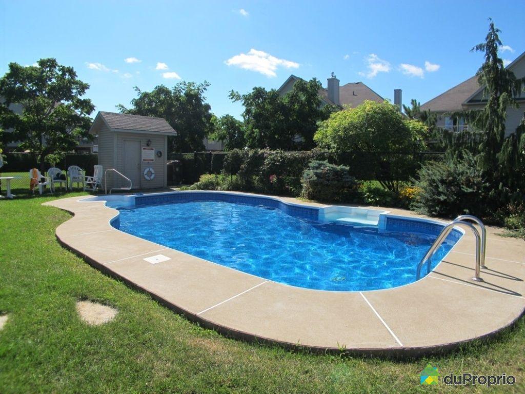 Condo vendu brossard immobilier qu bec duproprio 449017 for Brossard piscine