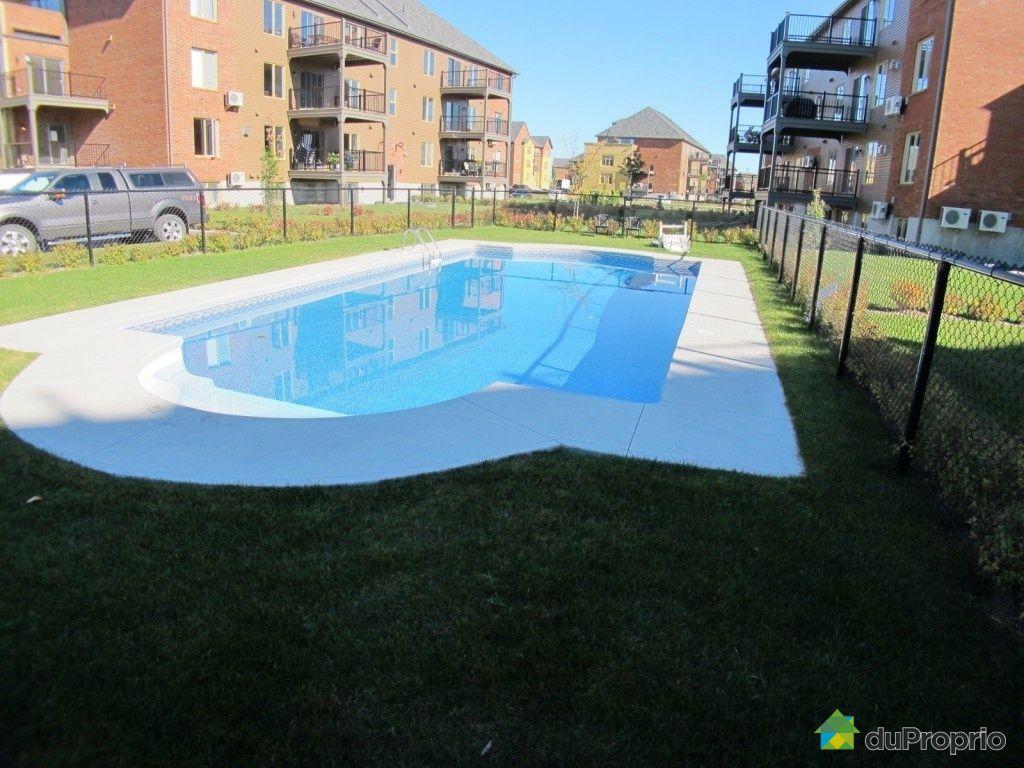 Condo vendu brossard immobilier qu bec duproprio 463641 for Brossard piscine