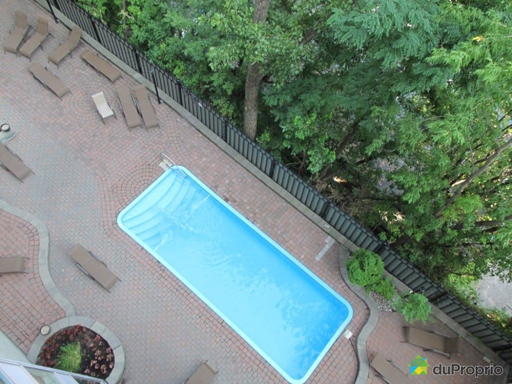Condo vendre montr al 666 1077 rue saint mathieu for Chauffage piscine quebec