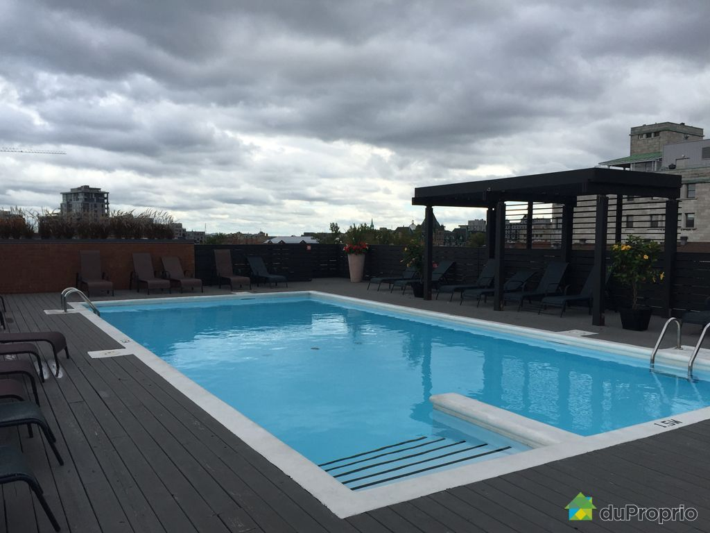 Condo vendre montr al 309 1000 boulevard ren l vesque for Piscine levesque