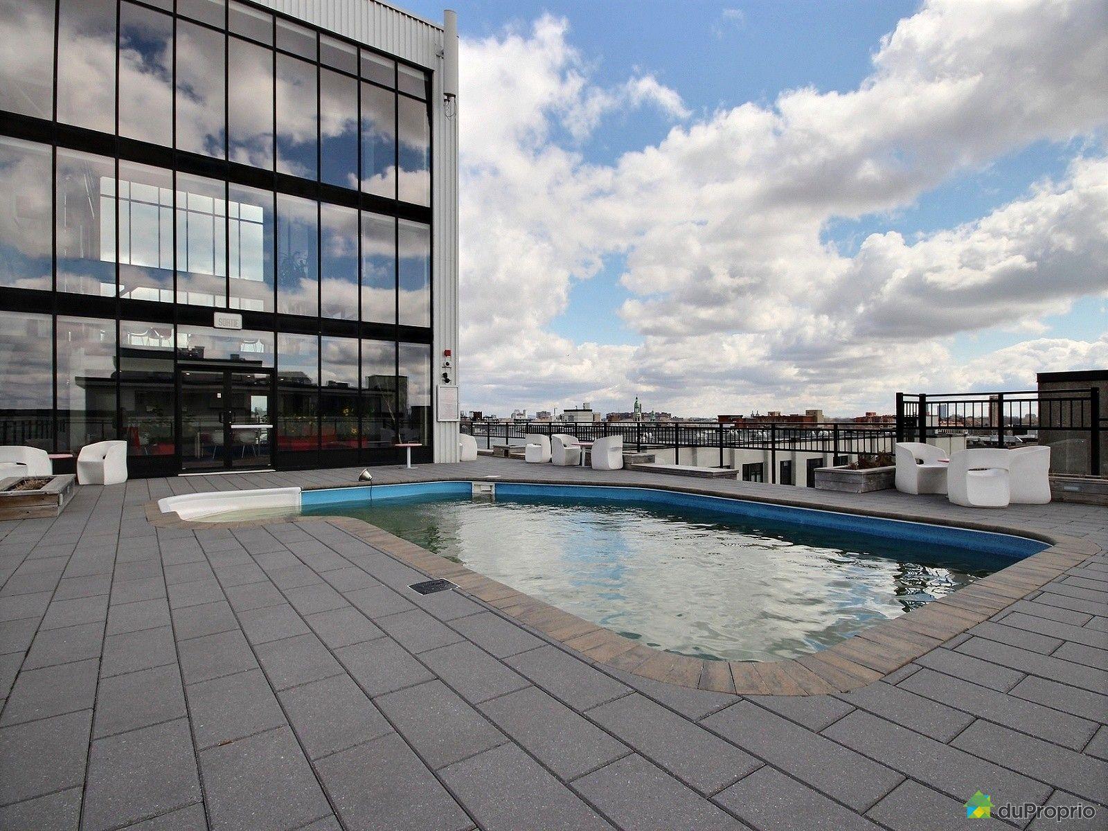Condo vendu montr al immobilier qu bec duproprio 696249 for Club piscine rive sud montreal