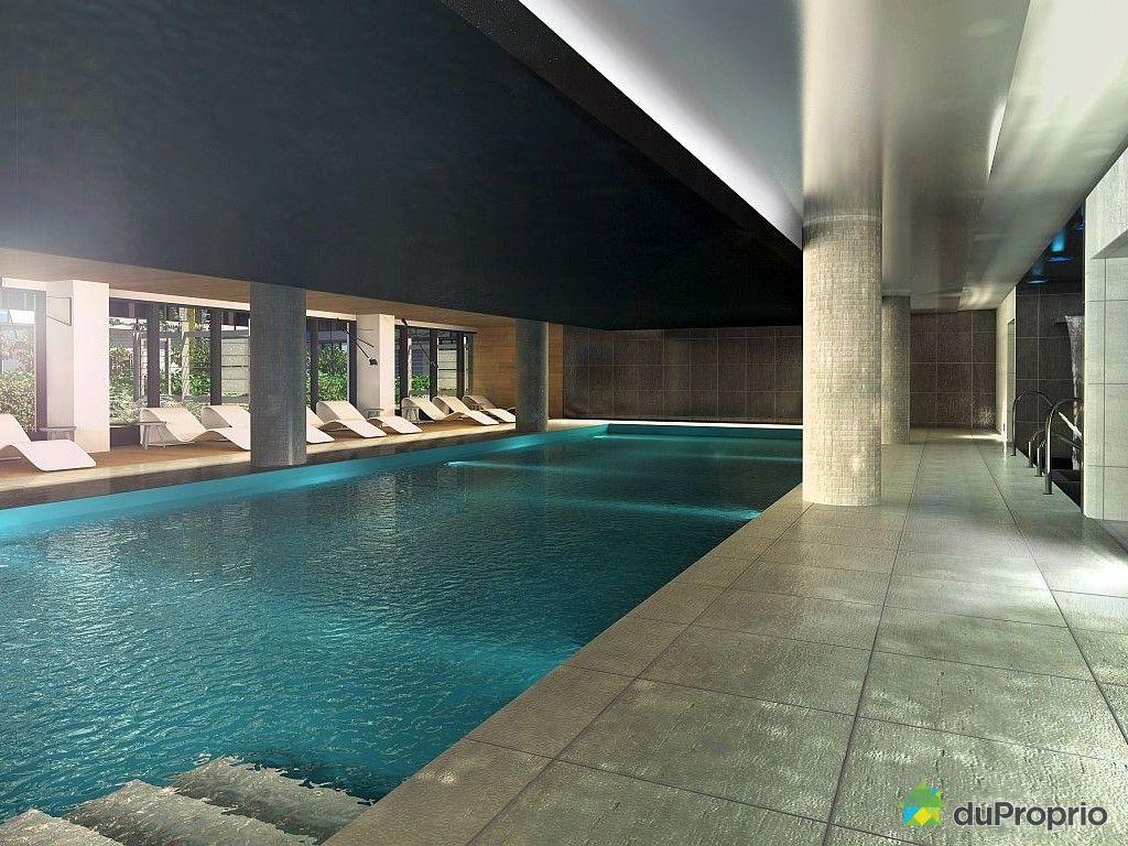 Condo neuf vendu montr al immobilier qu bec duproprio for Club piscine rive sud montreal