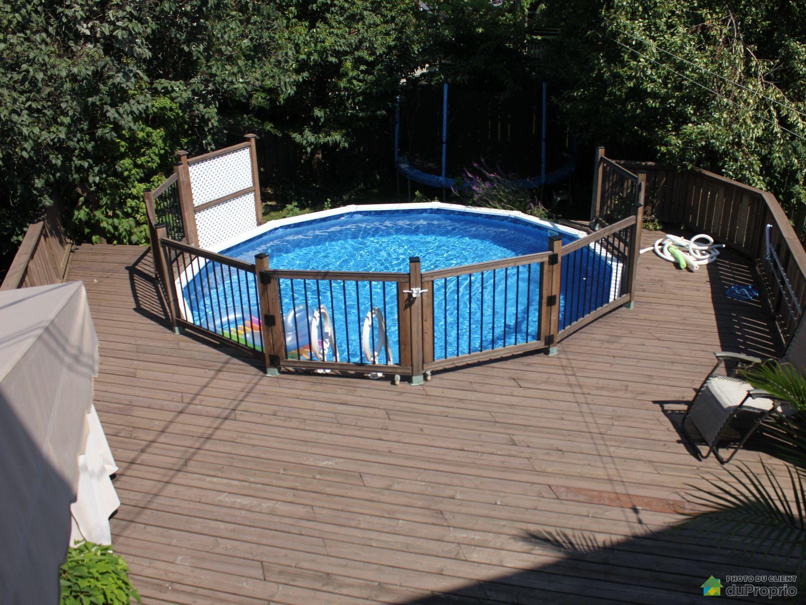 Duplex vendu brossard immobilier qu bec duproprio 614806 for Brossard piscine